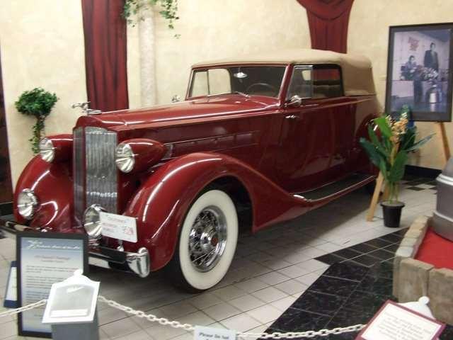 35 5 Passenger Convertible Victoria - Packard Museum Warren, Ohio