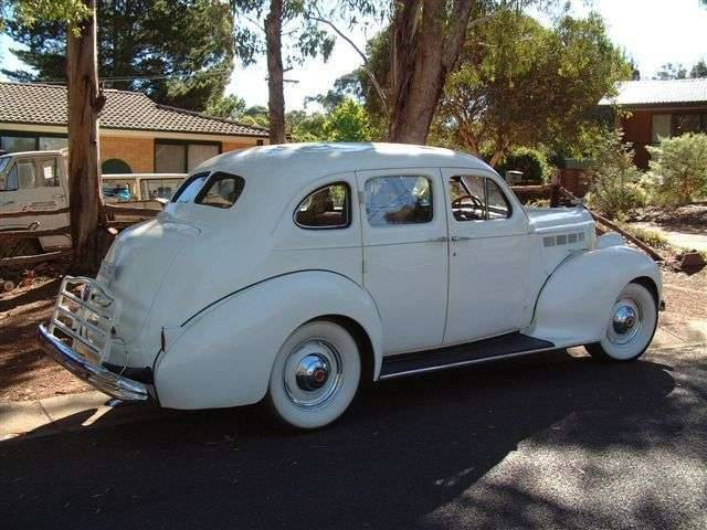 1938 Packard Six, Richards (Australian) touring sedan