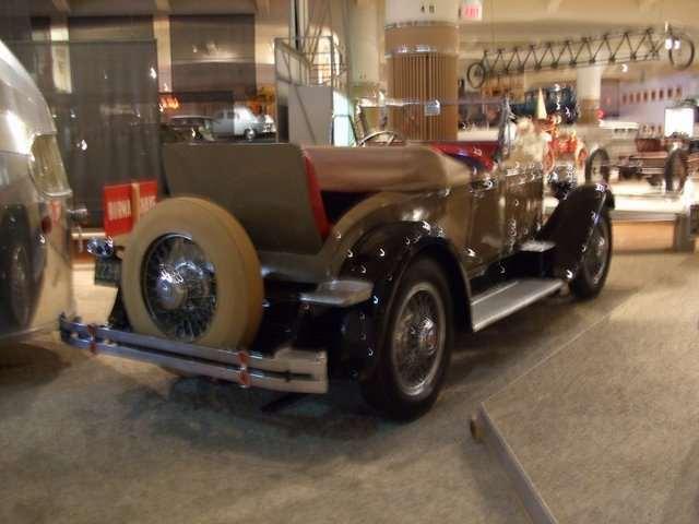 1929 626 Speedster Roadster @ Henry Ford Museum