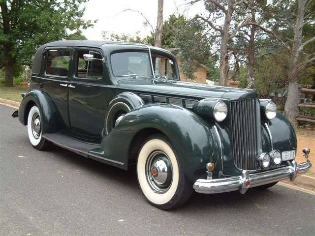 1938 Super Eight , 1603 Formal Sedan