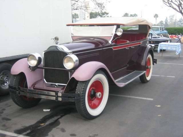 1928 533 Six Touring 5-7 passenger Body 300