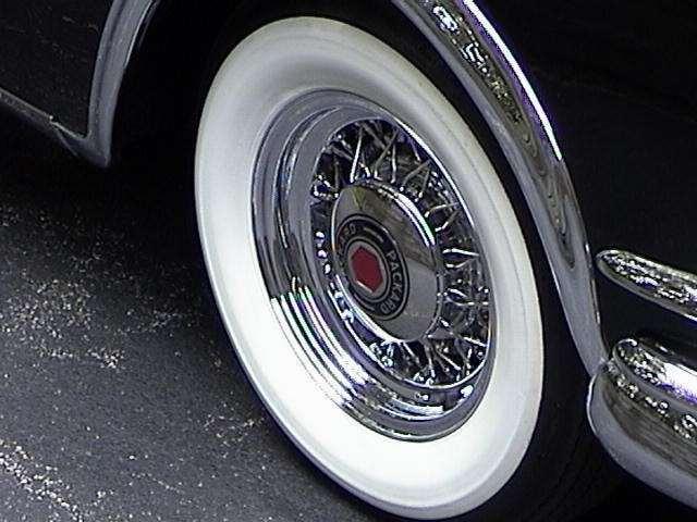 1953 Carribean Black Wire Wheel