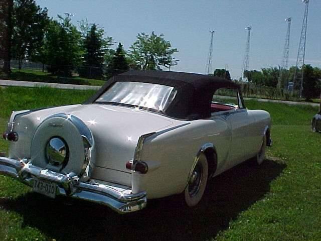 1953 Carribean White Passenger Rear Minnesota