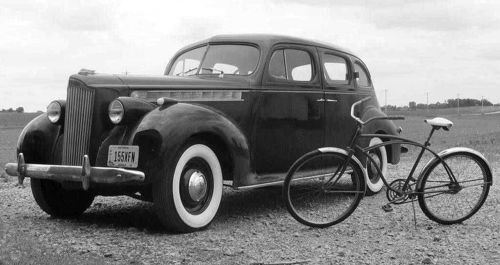 1940 Packard 110 Touring Sedan