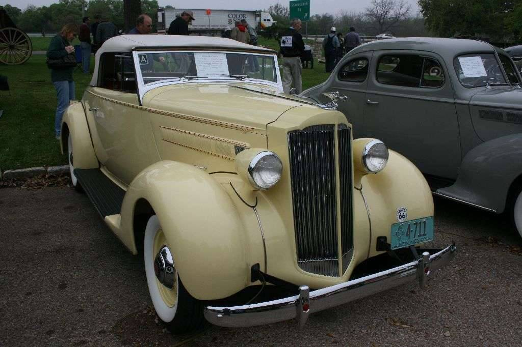 1937 Six (115C) Convertible Coupe (1089)