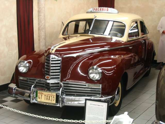 1947 Packard Clipper Taxi