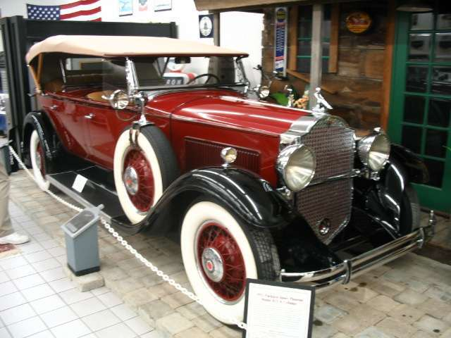 1931 Packard 833 Sport Phaeton