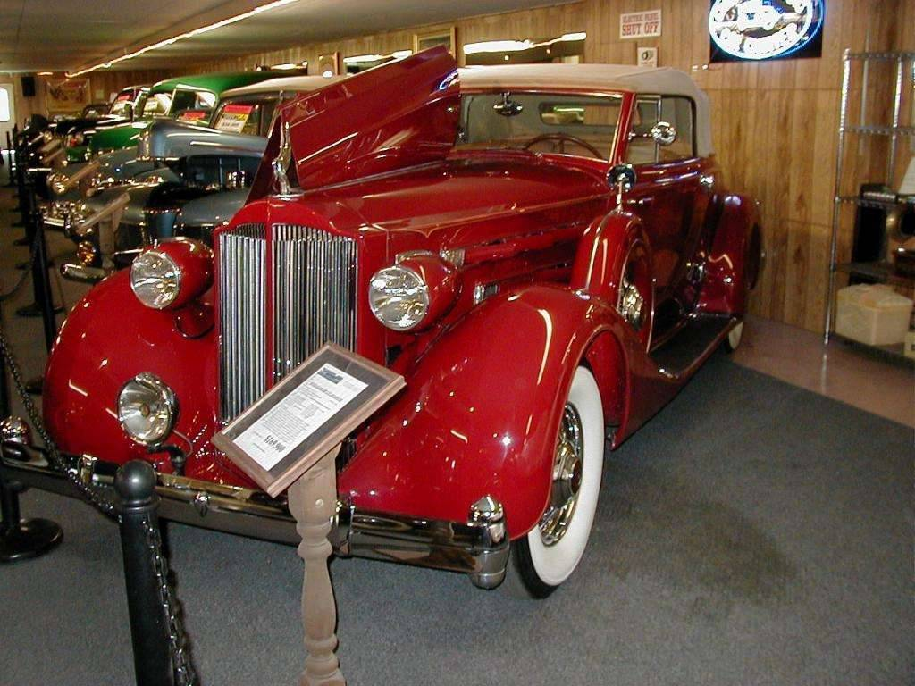 1935 PACKARD 1207 CONV ROADSTER