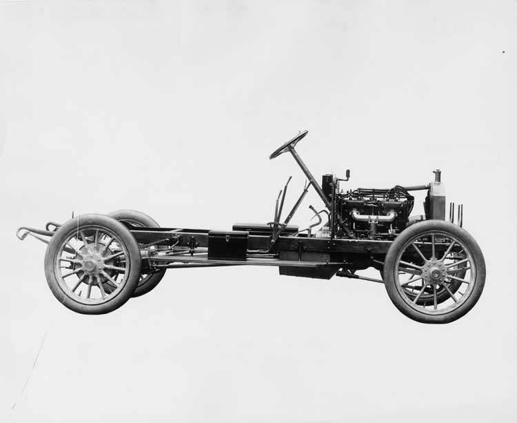 1908 PACKARD 30 MODEL UA ENGINE&CHASSIS