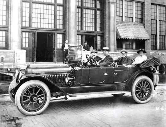 1914 PACKARD 4-48 SIX 4-PASS PHAETON-BARNEY OLDFIELD & HARVEY FIRESTONE