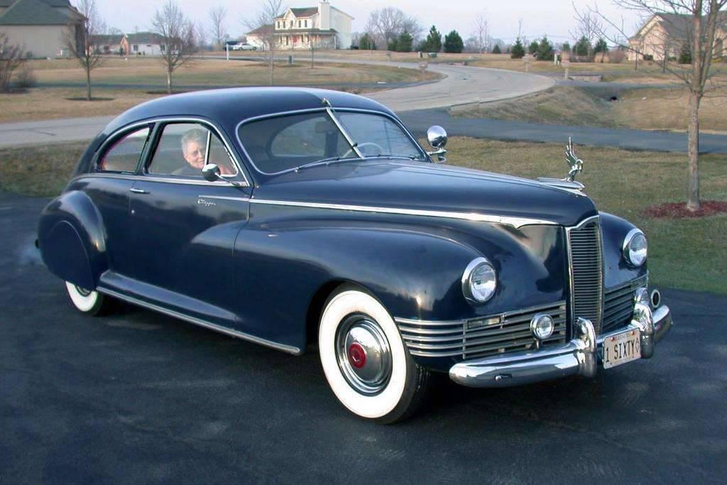 1942 Packard Super 8 One-Sixty Clipper Club Sedan