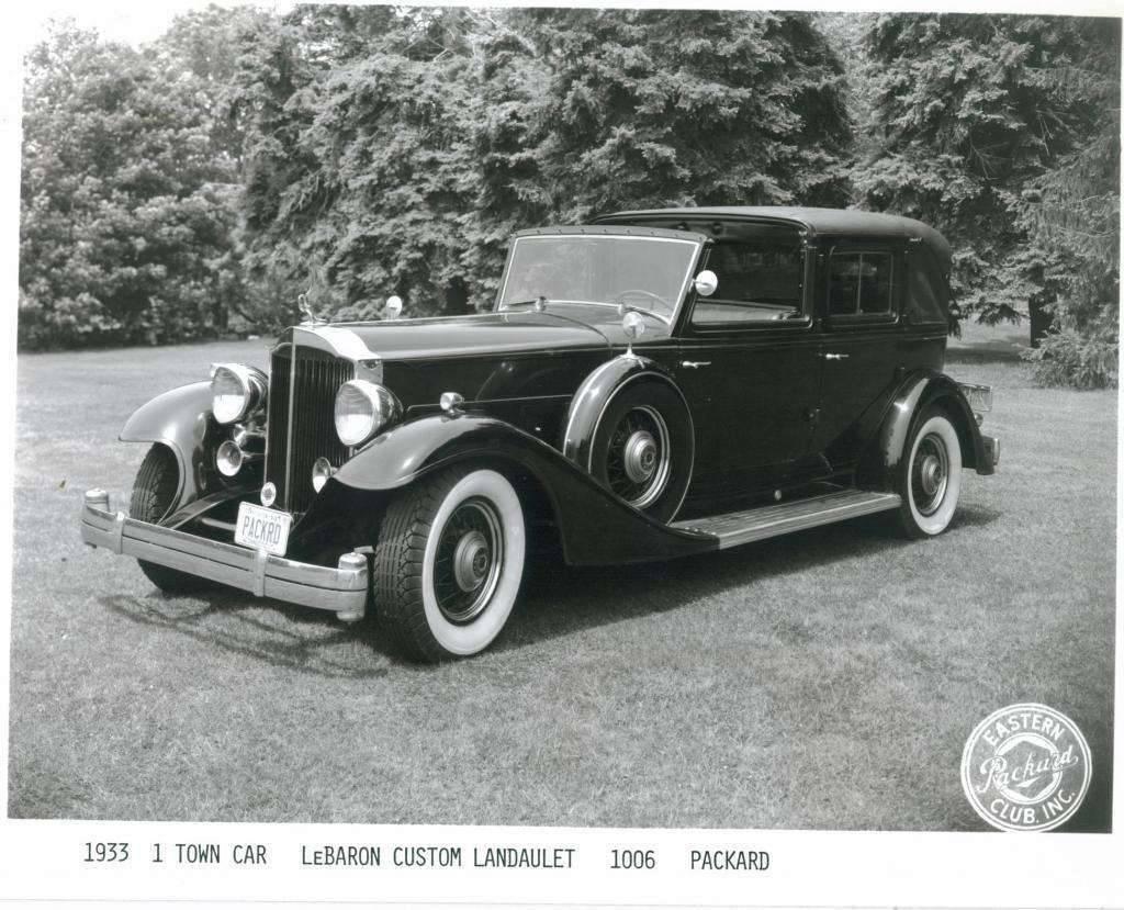 1933 1006 V12 LeBaron Landaulet