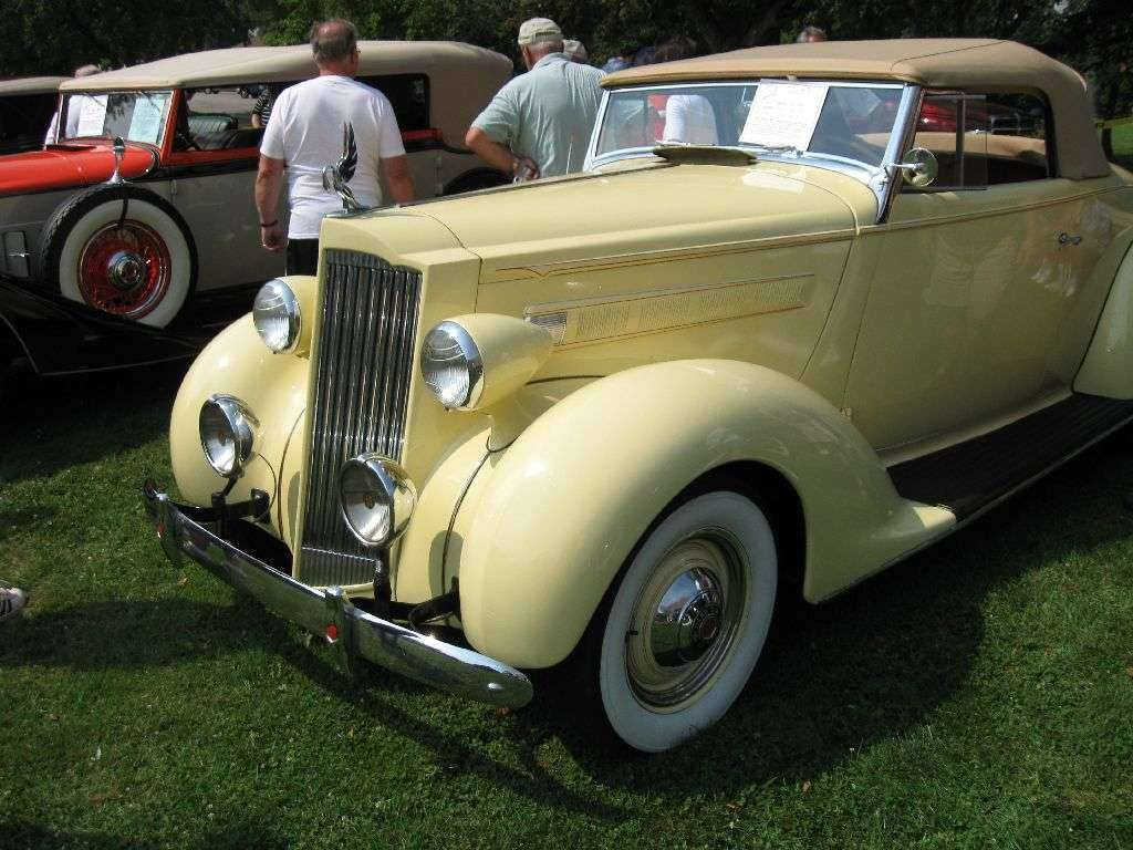 1937 120 Convertible Coupe