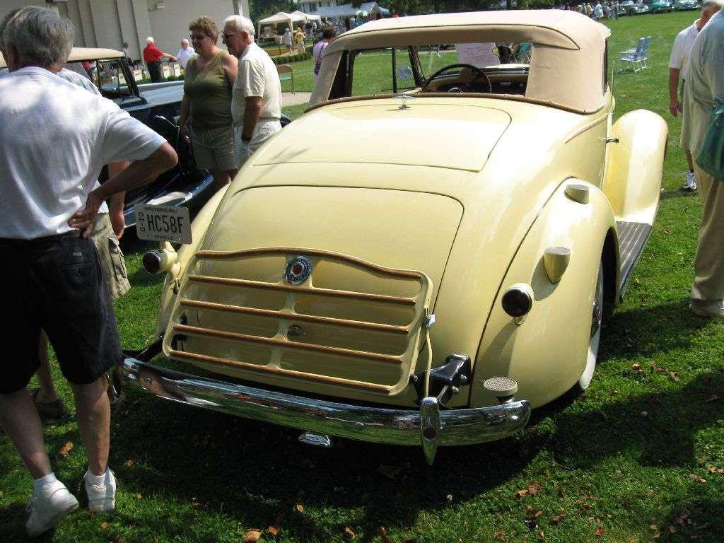 1937 120 Convertible Coupe