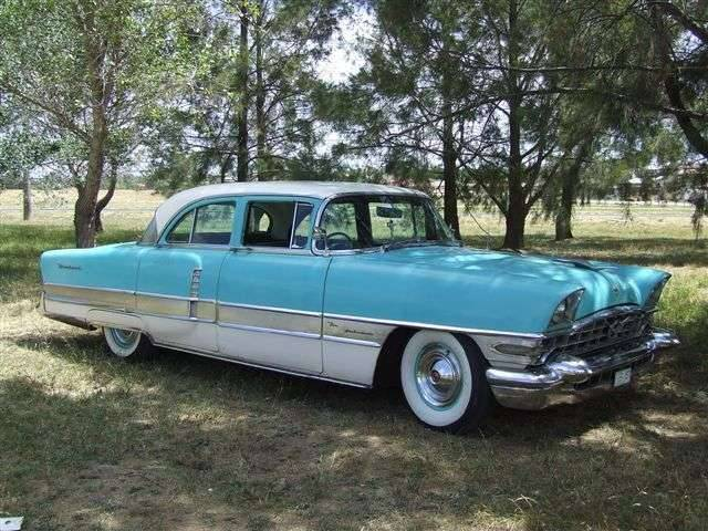 1956 Packard Patrician, Right hand Drive