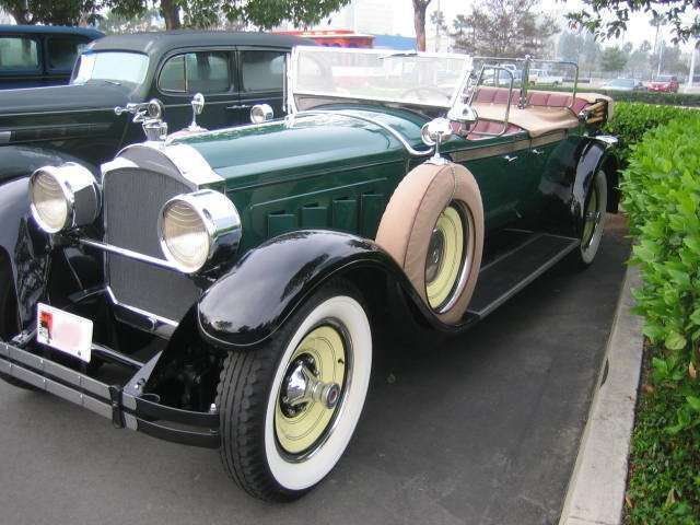 1928 443 Custom Eight Phaeton Body 311