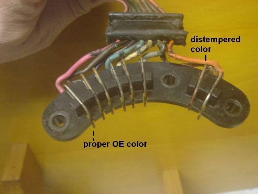Bob's p-b unit, #5, the contact bridge, as found