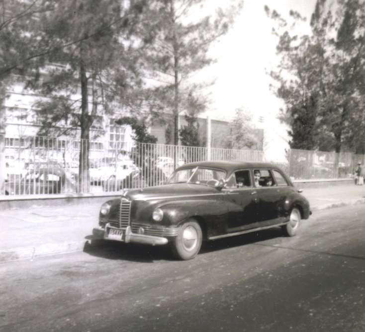 1946 Packard Limousine Mexico City