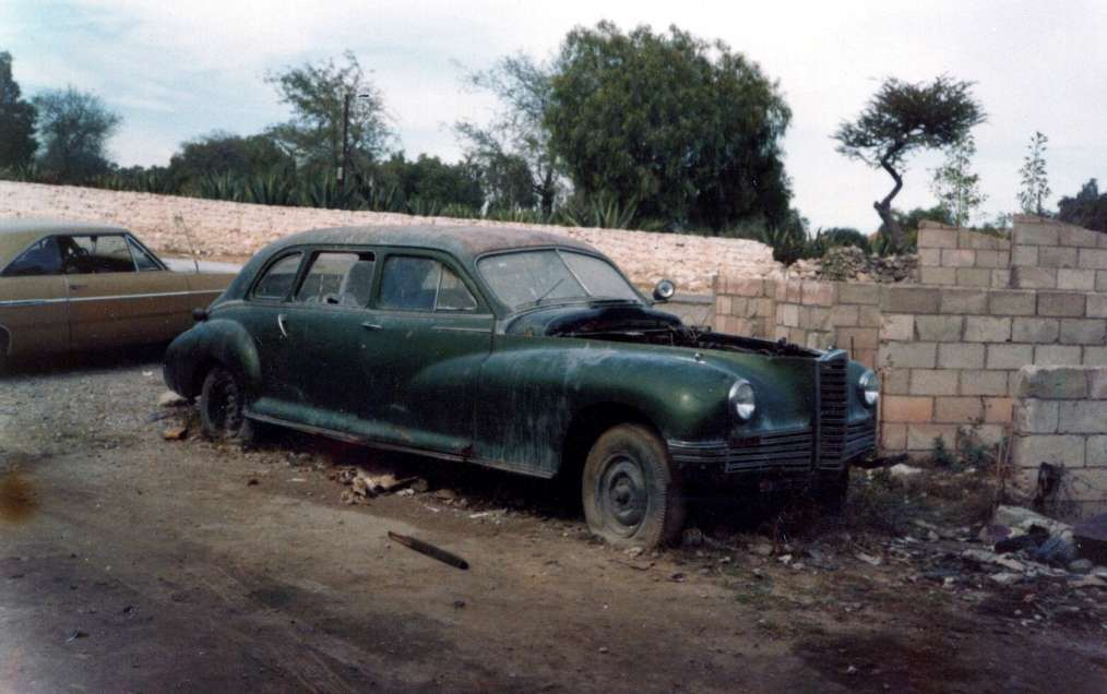 1946 Limo 25 years later Mexico City
