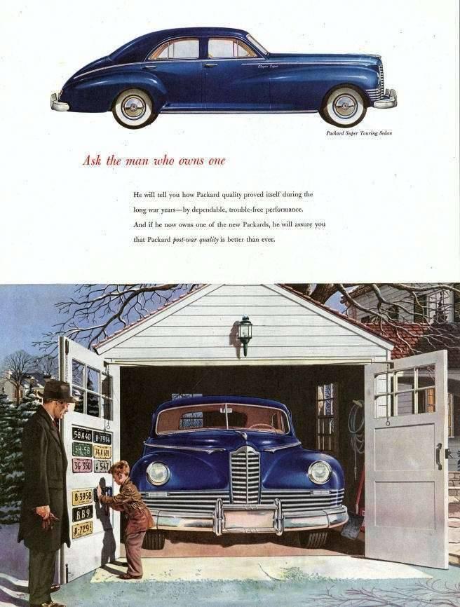 1947 PACKARD CLIPPER SUPER ADVERT