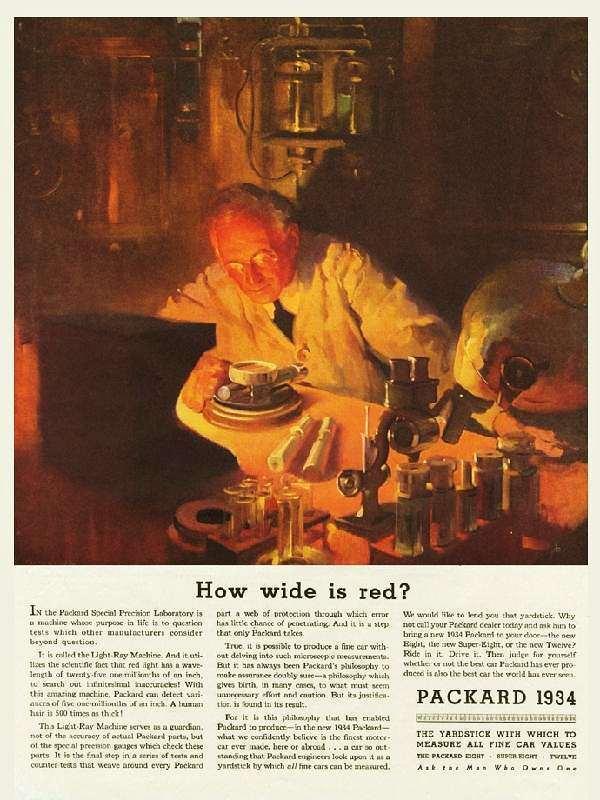 1934 PACKARD ADVERT
