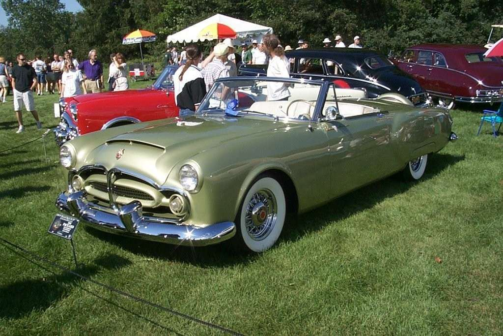 1952 Packard Pan American roadster