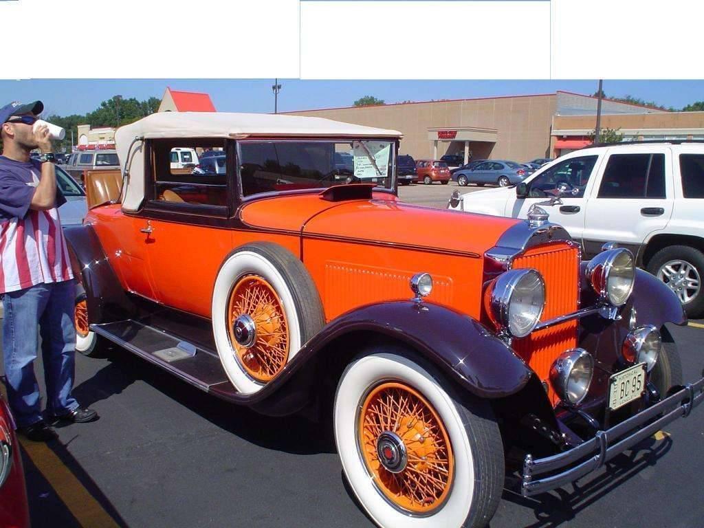 Winks Studebaker Packard cruise