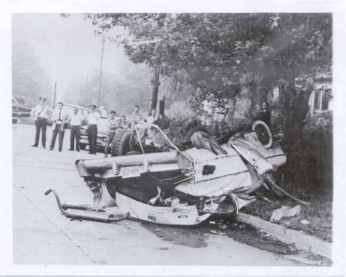 fatal accident with 1956 Clipper