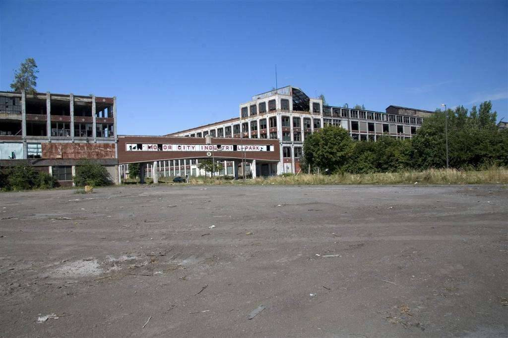 Packard Plant -  August 2008