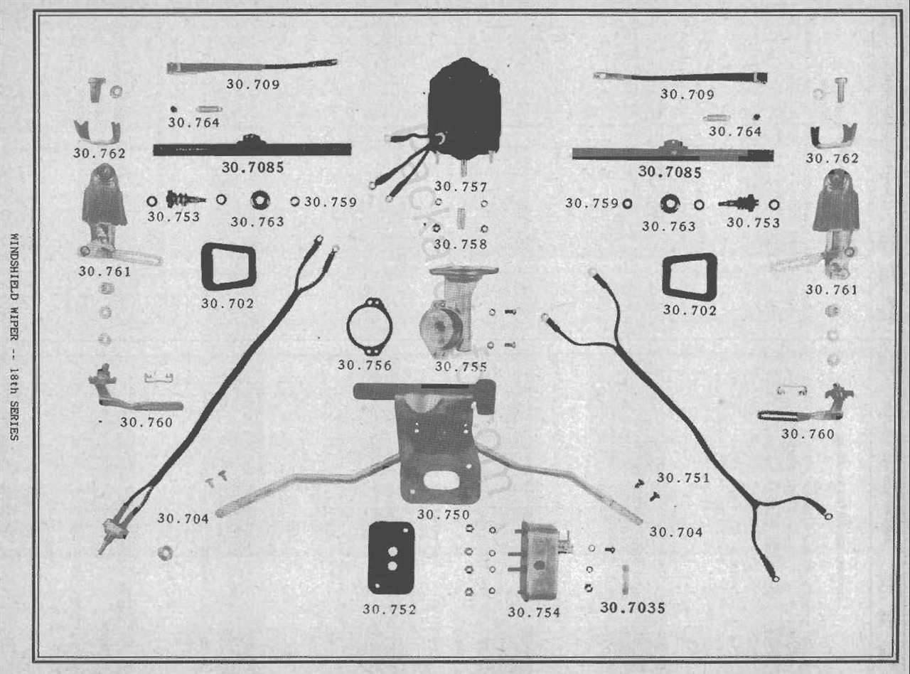 packard motor car information - windshield wiper