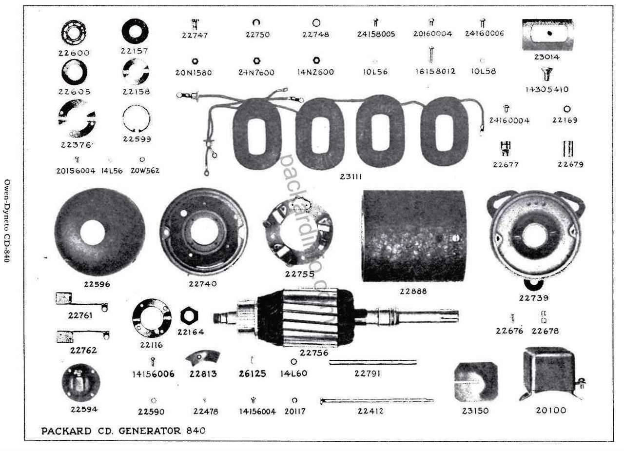 Owen-Dyneto CD-840 Generator