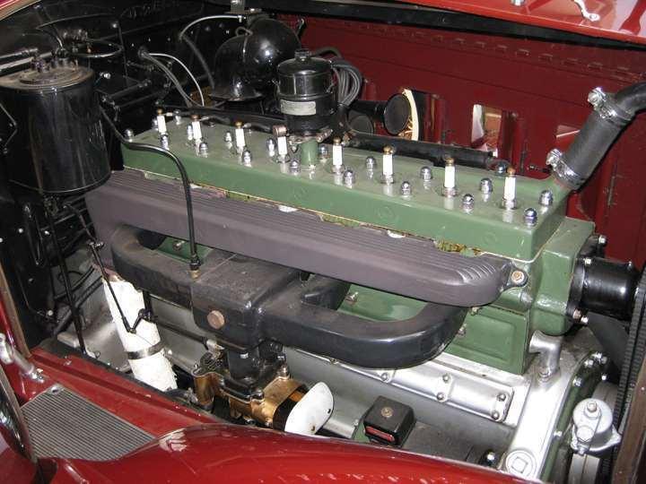 734 Speedster engine with correct carburetor