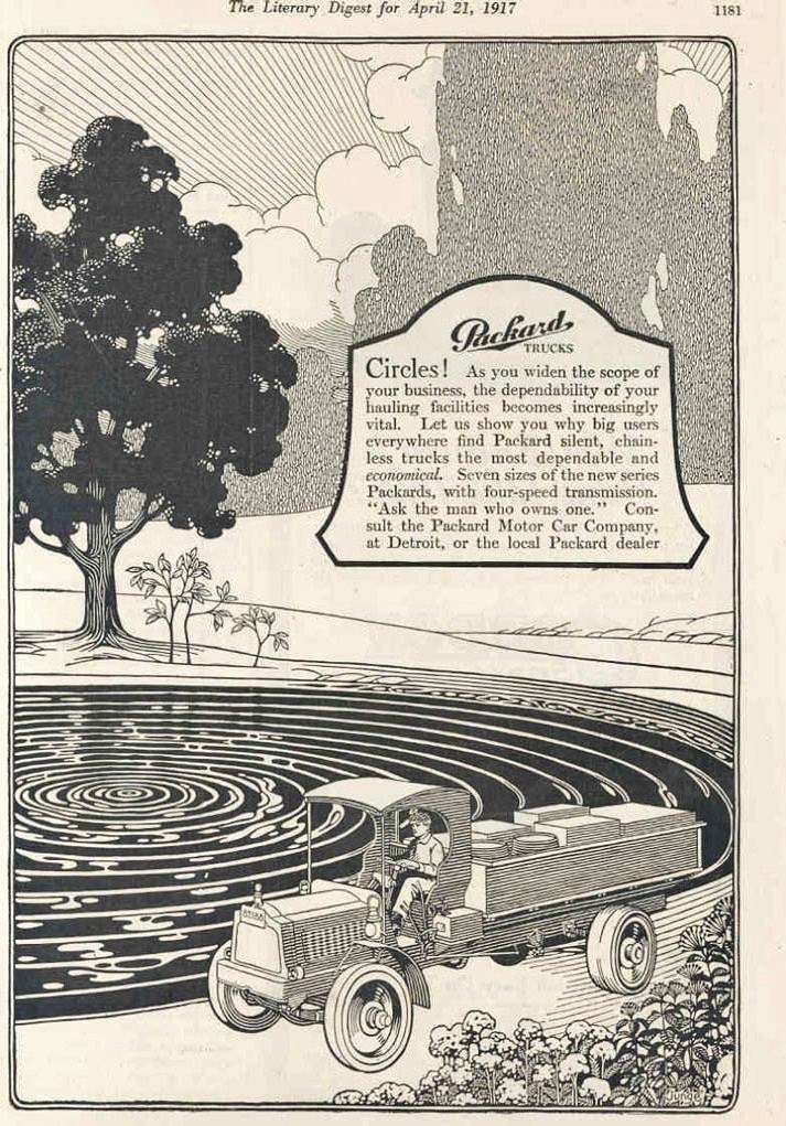 1917 PACKARD TRUCK ADVERT1-B&W