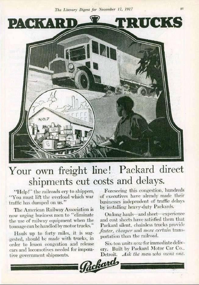 1917 PACKARD TRUCK ADVERT3-B&W