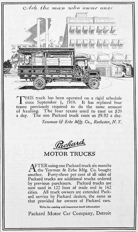 1911 PACKARD TRUCK ADVERT2-B&W