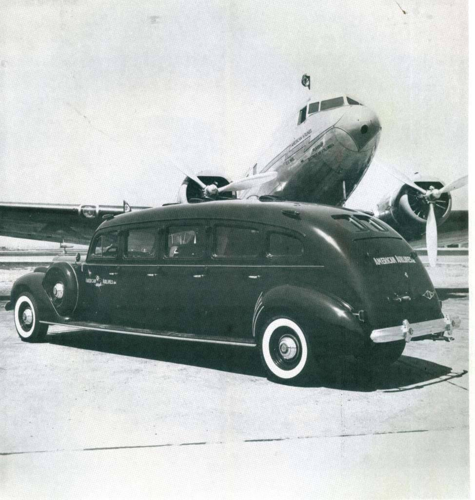 1939 Eight by Henney for American Airlines