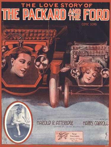 1915 PACKARD SHEET MUSIC