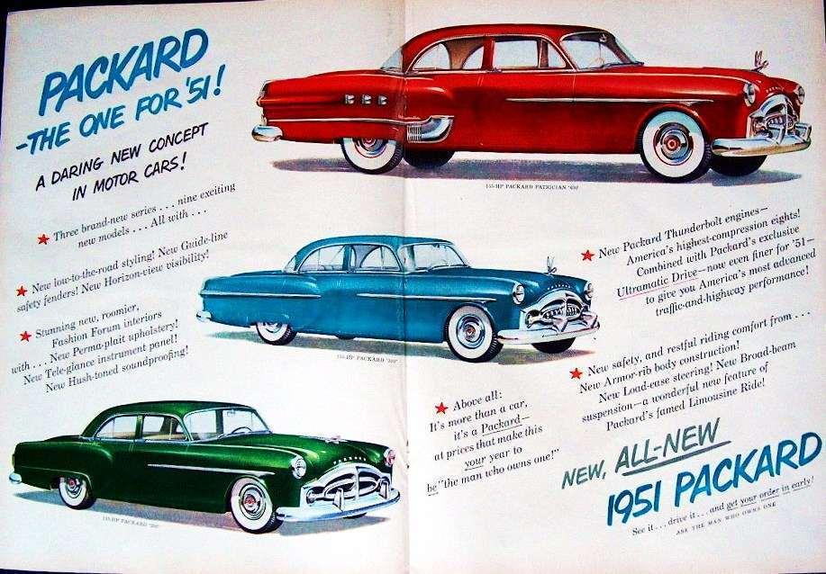 1951 PACKARD ADVERT
