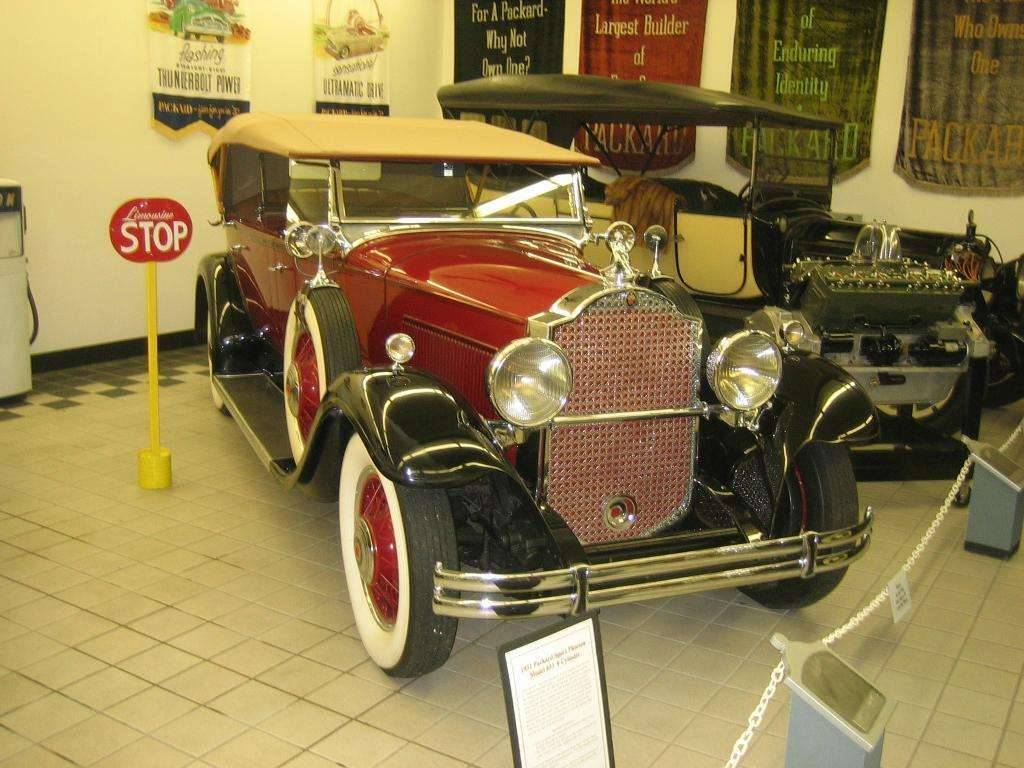 1931 833 Sport Phaeton