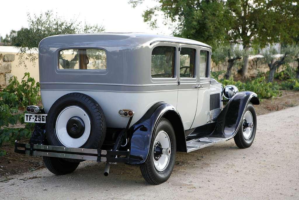 1928 Packard Six 5-33 Sedan Limousine TF-2566 Spain