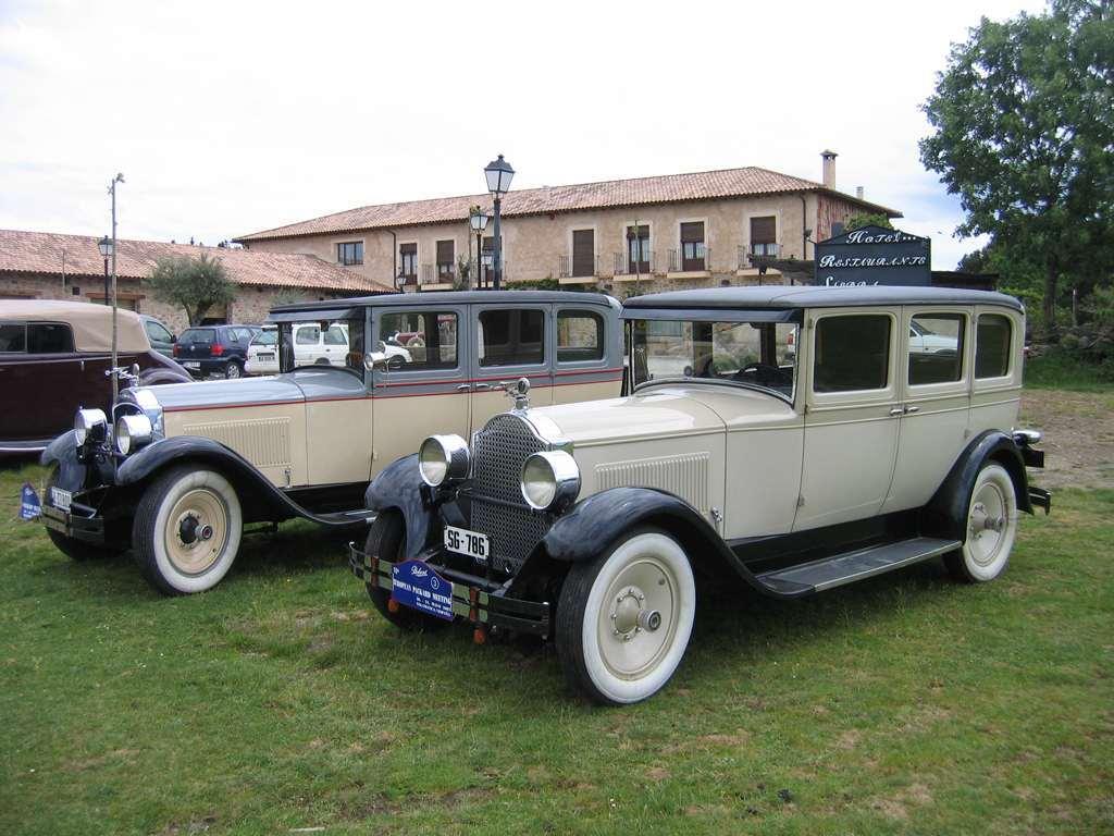 1928 Packard Six 5-26 Sedan SG-786 Spain
