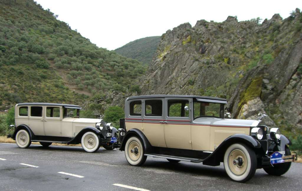 1928 Packard Six 5-26 Sedan SG-786 Spain