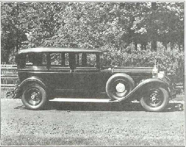 Mrs. J. W. Packard's 443 Limo
