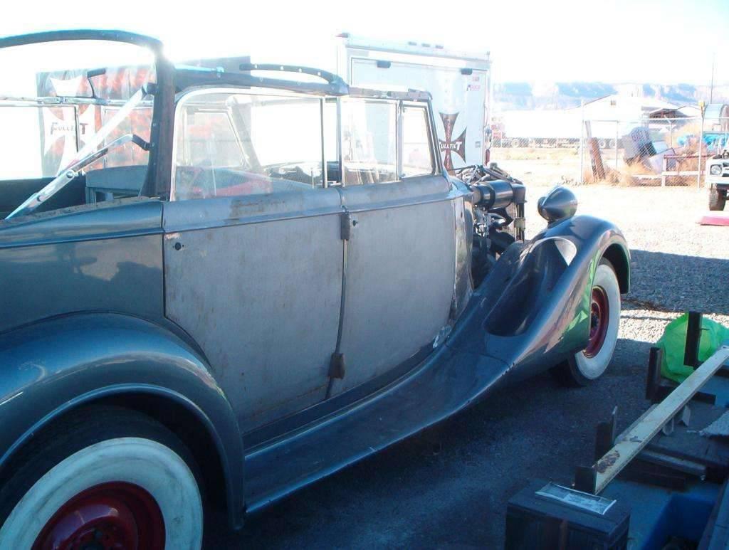 36 Packard Convertable.....Restoration