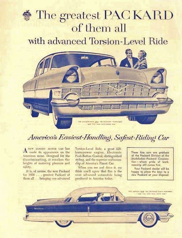 1956 PACKARD ADVERT