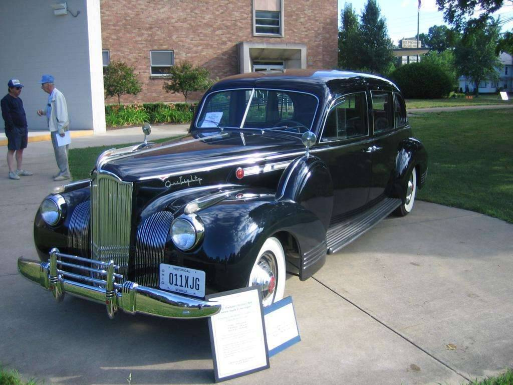 1941 Packard Model 1908 Custom Super 180 Touring Limo by Lebaron