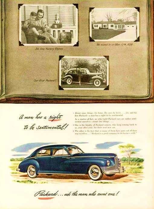 1947 PACKARD ADVERT