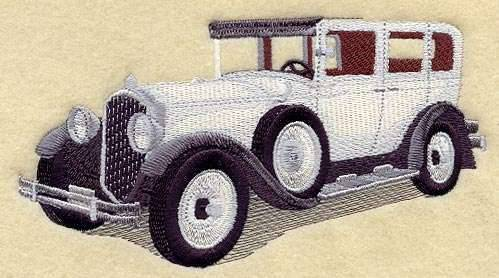 1929 Packard Embroidery Pattern