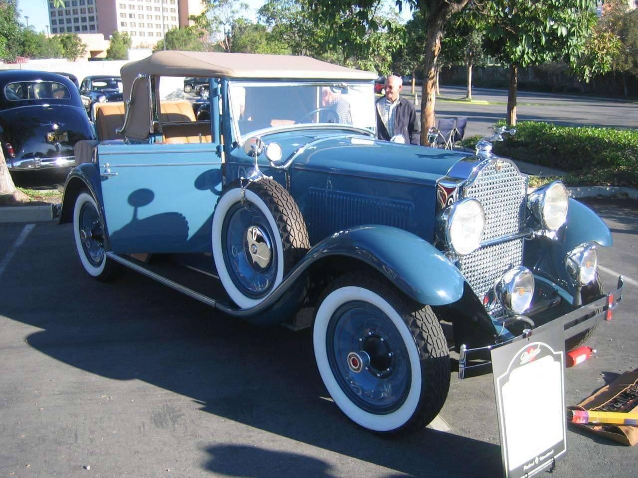 1929-626 Convertible Coupe
