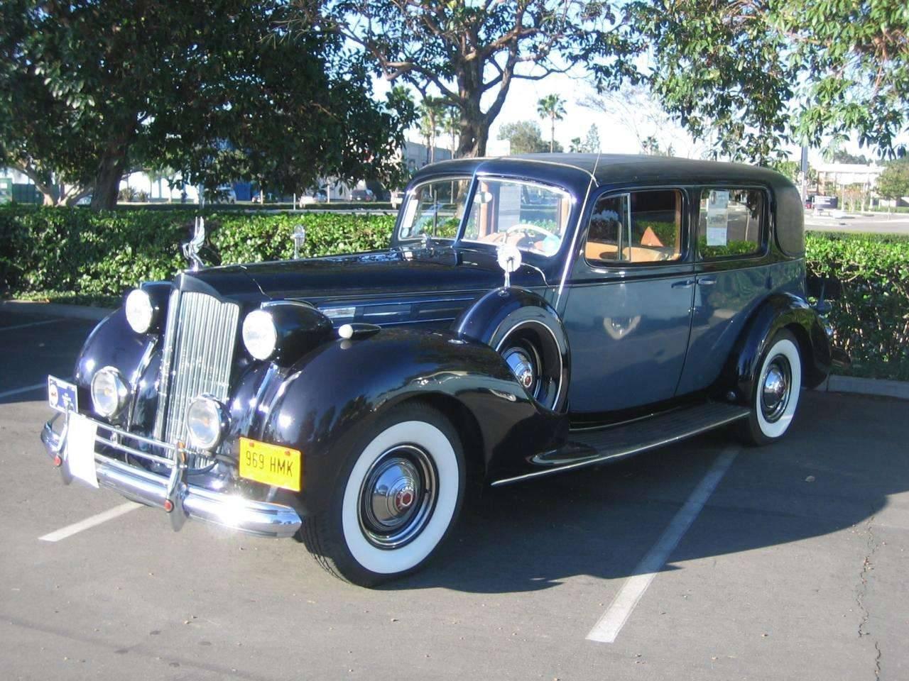 1938-V12 Formal Sedan